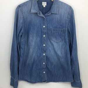 J. Crew | Chambray Button Up